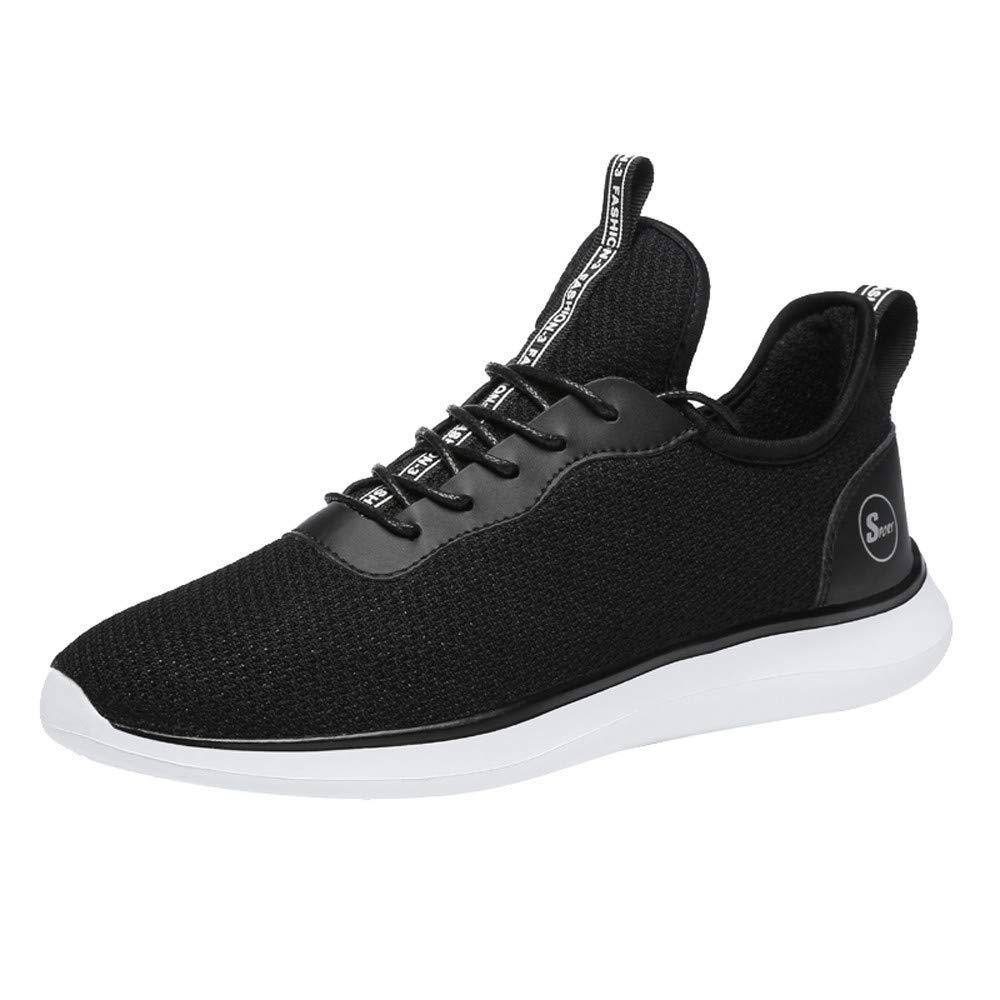 Luckhome Damen Herren Laufschuhe Sportschuhe Turnschuhe Trainers Running Fitness Atmungsaktiv Mesh Freizeitschuhe Gurt Sneakers
