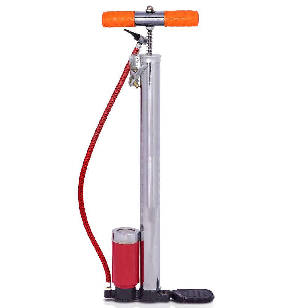 Bicicleta Bomba de aire de suelo/pie, bomba de aire pie, para ...