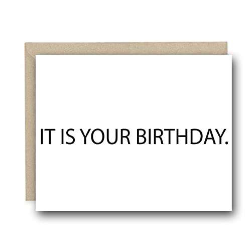 Amazon the office birthday card it is your birthday funny the office birthday card it is your birthday funny birthday card card for bookmarktalkfo Gallery