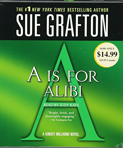 A Is For Alibi (A Kinsey Millhone Novel)