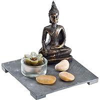 UniqueHome MC-77847 Buda Terapi Seti, Bronz