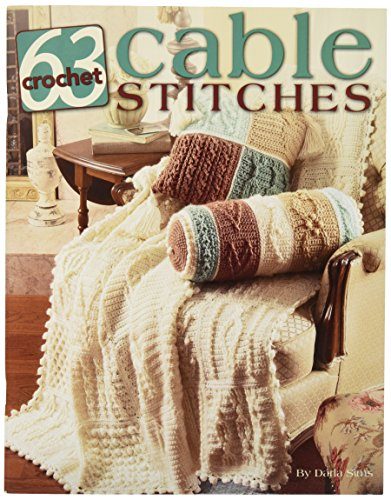 Leisure Arts 63 Crochet Cable Stitches Book