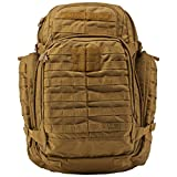 Tactical Backpack - 5.11 3 Day Rush Backpack, Flat Dark Earth
