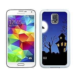 Hot Sell halloween night White Samsung Galaxy S5 Case 1