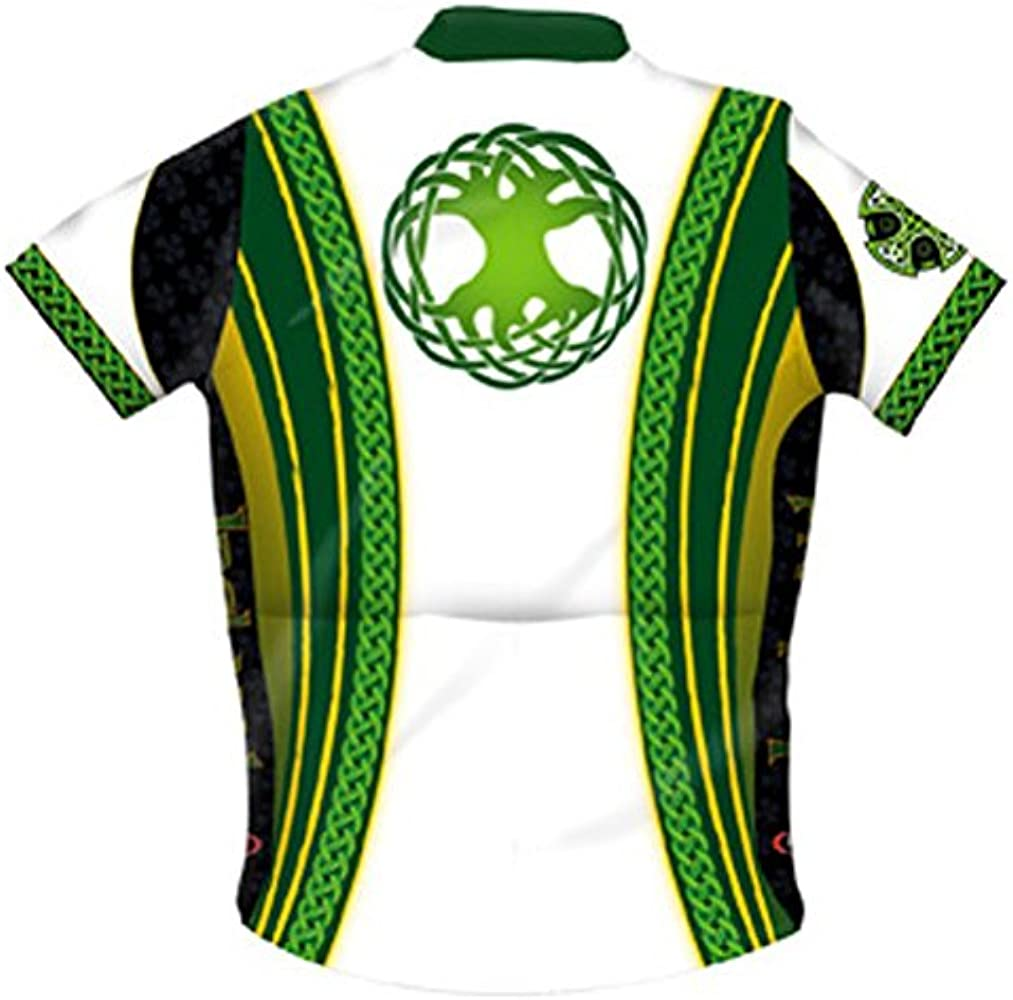 Primal Wear Ireland Cycling Jersey Irish Celtic Knot Men/'s short sleeve with Sox