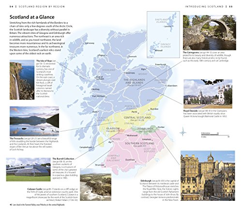 Dk eyewitness travel guide scotland for for Travel guide to scotland