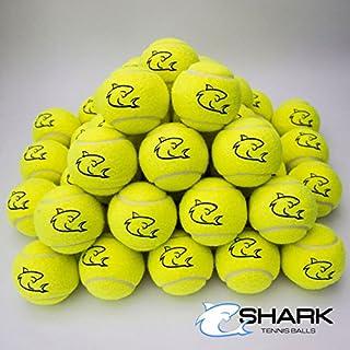 New 70x di alta qualità giallo palline da tennis ideale per Fun tennis–cricket–Bambini–Dogs Shark Tennis Balls
