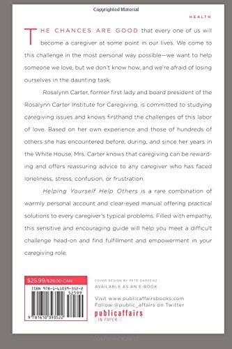 Helping Yourself Help Others: A Book for Caregivers