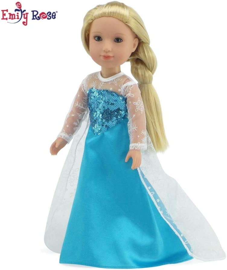 Sewing Form Emily Rose 14 Inch Doll Clothes Dress Mannequin Fits 14 American Girl Wellie Wishers and Glitter Girls Dolls
