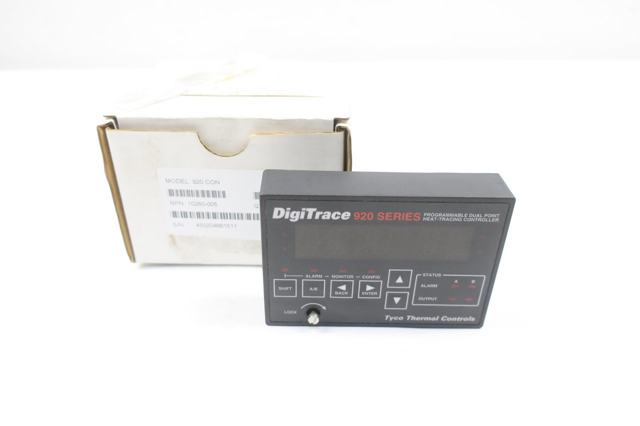 TYCO 920CON DIGITRACE 920 Series Dual Point Heat-TRACING ...