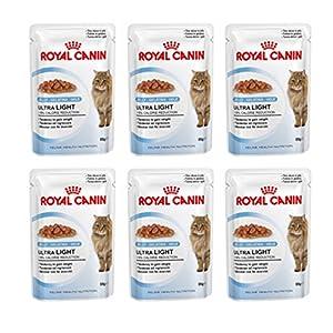 "6 Sachets 85 g. ""Royal Canin"" Ultra Light in Jelly for -19% Calorie Reduction ($7.49 / Sachet)"