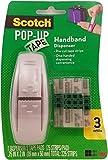 Scotch Pop-Up Tape Handband Dispenser, 3/4 x 2