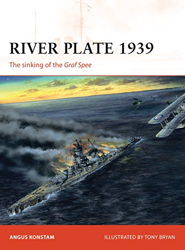 River Plate 1939: The sinking of the Graf Spee (Campaign Book 171) ()