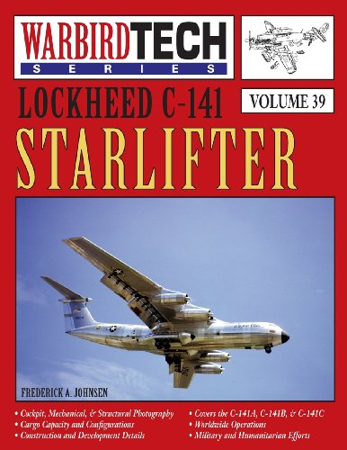 Lockheed C-141 Starlifter- Warbirdtech Vol. 39, used for sale  Delivered anywhere in USA
