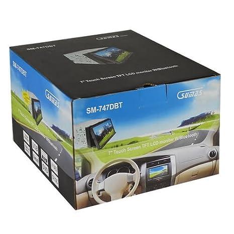 amazon com sumas media sm 747dbt in dash cd dvd player mp3 usb rh amazon com Car Stereo Speaker Wiring Diagram Kenwood Car Stereo Wiring Diagram