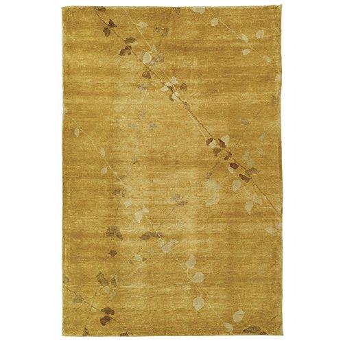 Safavieh Martha Stewart Collection MSR5536A Trellis Premium Wool Amber Area Rug (9'6