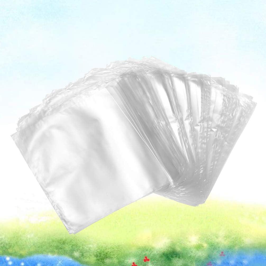 Healifty 200 St/ücke Klar Schrumpffolie Beutel f/ür Geschenke Verpackung Hausgemachte DIY Projekte Bad Bombe Seifen Versorgung Gr/ö/ße 5