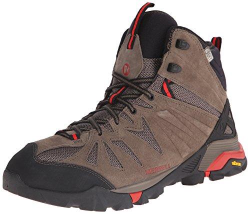 Merrell Men's Capra Mid Waterproof Hiking Boot - Boulder ...