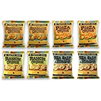 Protein Chips, 10g Protein, 5g Fiber, Keto-Friendly, Low Carb Chips, Protein Crunch, 8 Pack (Assortment)