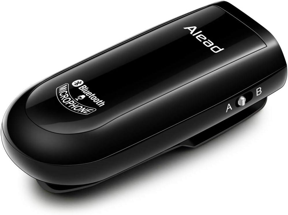 Alead BTMIC2 Micrófono inalámbrico Bluetooth, Largo Alcance, Baja latencia, para educación, seminario Web, Conferencia, grabación de Voz, Sistemas de megafonía, Audio para PC, Vlogger, Youtuber