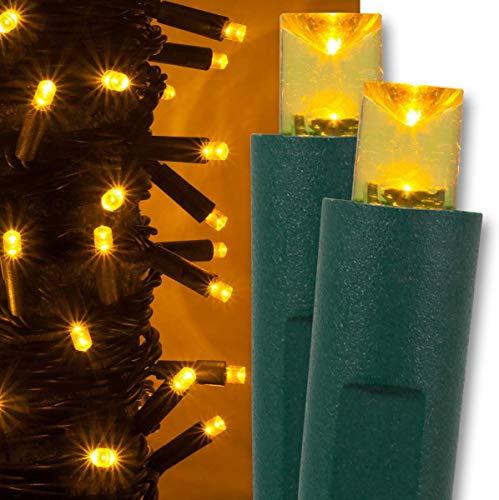 Blue And Gold Led Christmas Lights