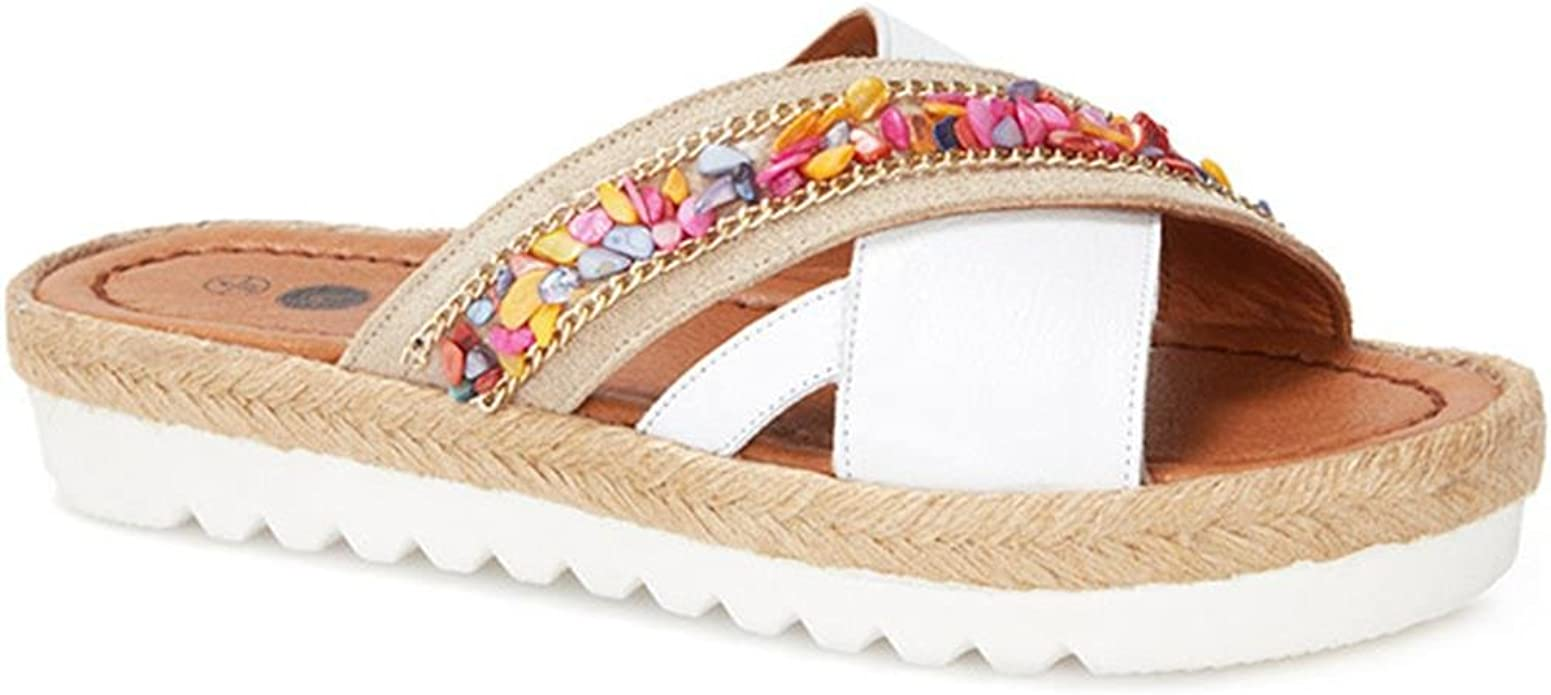 Mule Sandals Rope Shoes Comfy
