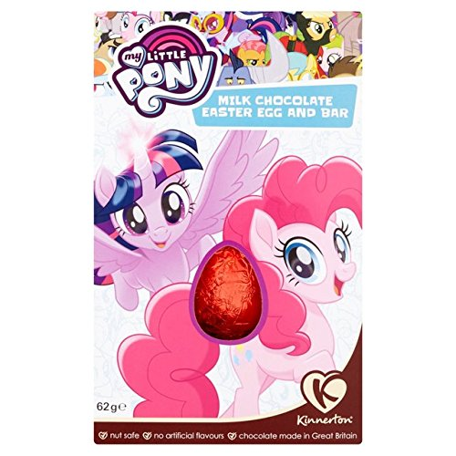 (Kinnerton My Little Pony Easter Chocolate Egg 62g)