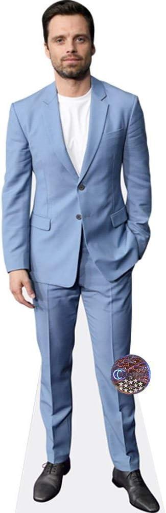 Sebastian Stan (traje azul) Mini recortado