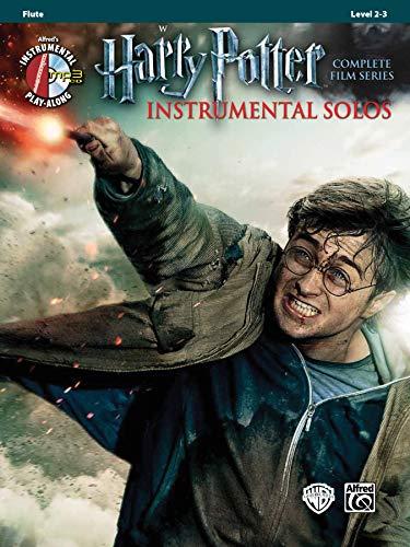 - Harry Potter Instrumental Solos: Flute, Book & CD (Pop Instrumental Solo Series)