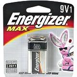 Energizer MAX Alkaline Battery 9 Volt 1 EA - Buy Packs and SAVE (Pack of 2)