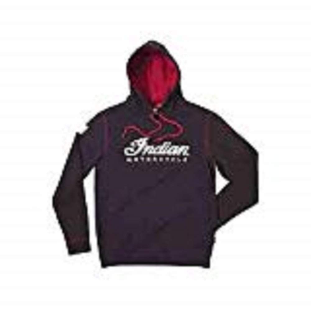 Indian Motorcycles Men's Warbonnet Hoodie Size Large by Indian Motorcycle
