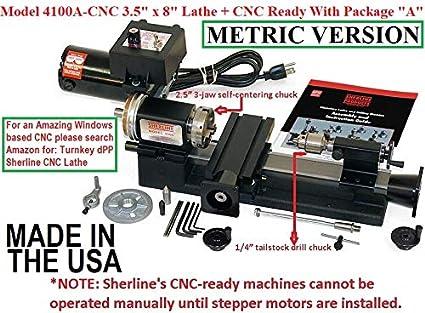 Amazon com: Sherline 4100A-CNC 3 5