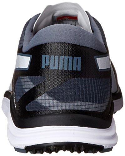 PUMA Mens Biodrive Golf Shoe Black/White/Turbulence NboN7dy