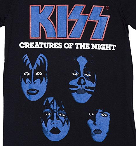 Mens Black KISS Creatures Of The Night T Shirt