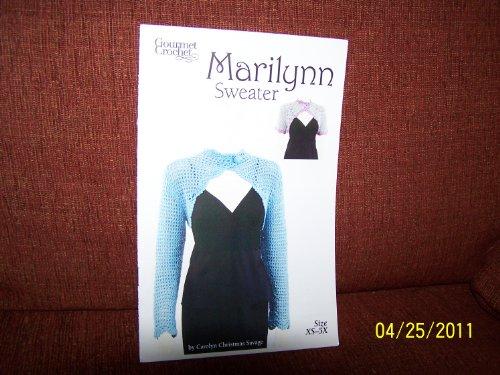 (Gourmet Crochet MARILYN Sweater Size XS-5X )
