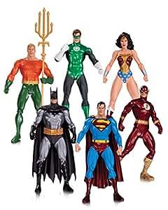 DC Comics Liga de la Justicia Alex Ross Pack 6 Minifiguras