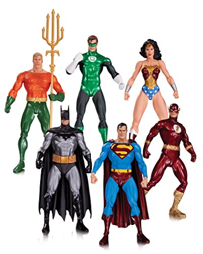 DC Collectibles Alex Ross Justice League Action Figure (6 Pack)