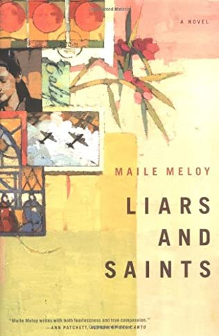 book cover of Liars and Saints