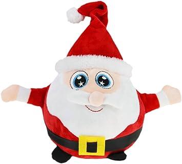 "13/"" LED Light Up Plush Elf Christmas Plush Soft Toy Decor Kids Night Light Gift"