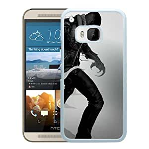 prototype character hand hood White HTC ONE M9 Screen Phone Case High Quality Handmade Cover