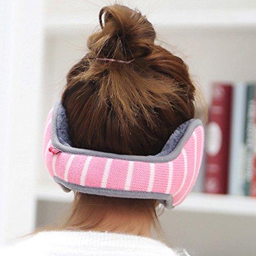 Winter Earmuffs-ViewHuge Foldable Unisex Fashion Warmer Thicken Knitted Plus Cloth Winter Warm EarMuff Ear Muffs Earwarmers For Men Women Adult ()