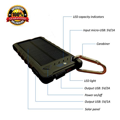 Best Portable Solar Charger For Cell Phone - 1