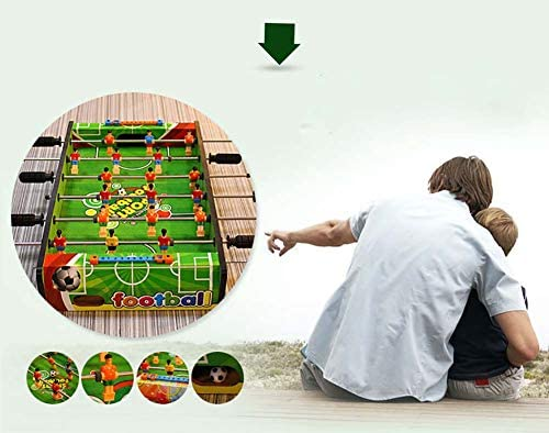 RUIXFFT Futbolín Mesa de fútbol Fútbol Tabla Pateador Fútbolista ...