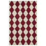 Kaleen Rugs Nomad Collection NOM02-25 Red Flat-Weave 9' x 12' Rug