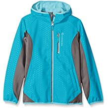 Free Country Girls' Embossed Dot Soft Shell Jacket