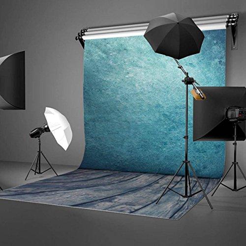 Mohoo 1.5 * 2.1 m Fotohintergrund Fotografie Stoffhintergrund Stoff Hintergrund Kulissen klassische Holzfussboden Studio Vinyl