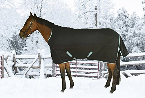 TuffRider Bonum 1200D Ripstop 220g Light Weight Turnout Blanket with High Neck by TuffRider