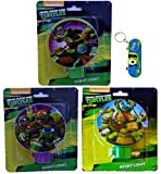 Teenage Mutant Ninja Turtles By Nickelodeon Kids Night Light (3 Different Designs)
