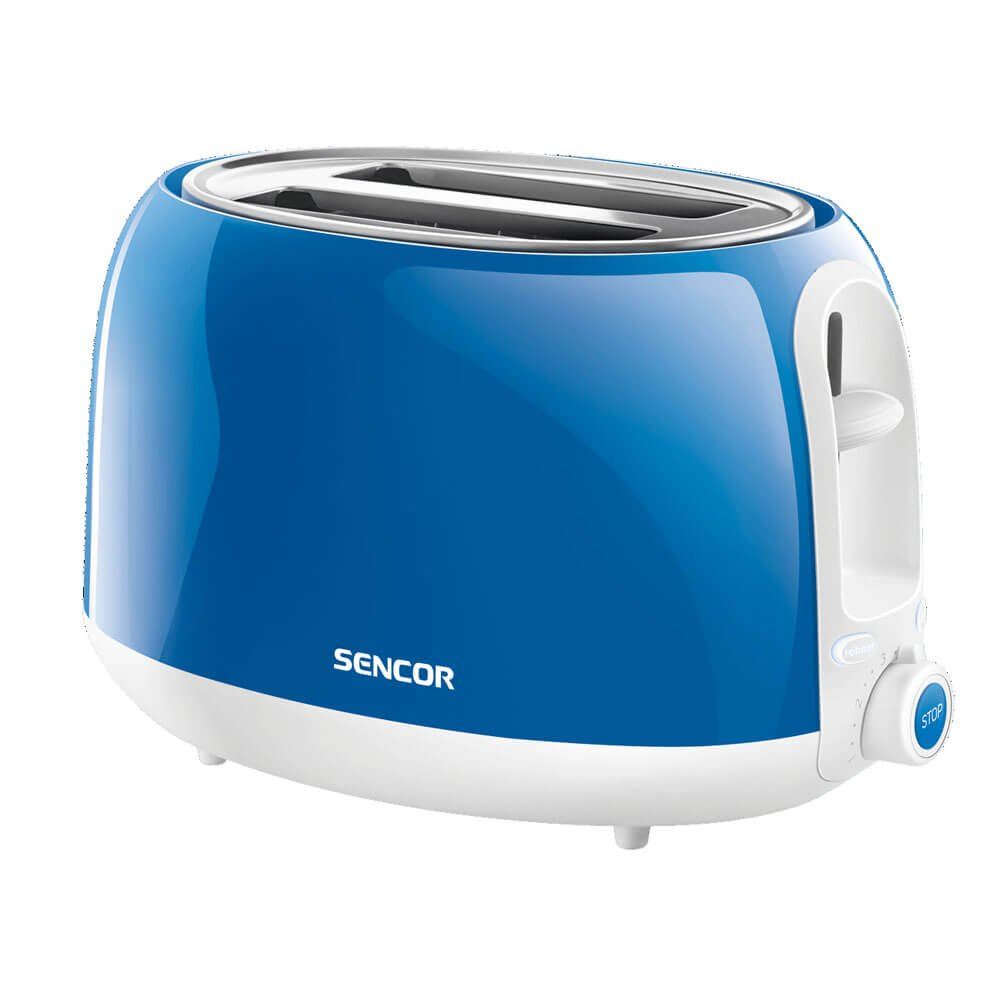 2 Slice Electric Toaster Color: Solid Blue