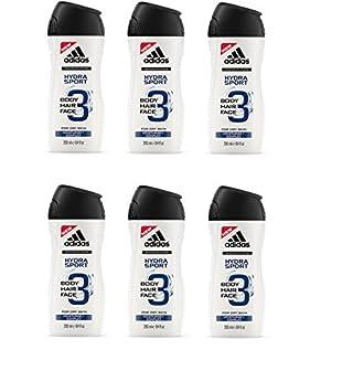 adidas Hydra Sport Duschgel für Herren 3 in 1 – Sanfte